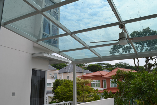 Alfresco Glass Roof 01a Al Fresco Elite System Pte Ltd