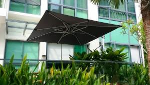 Alfresco Overhang Parasol Square