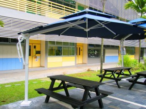 Alfresco Parasol Square 3mx3m