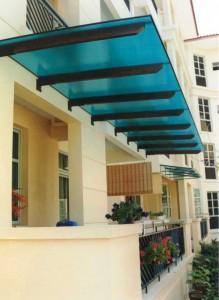 Polycarbonate Roof Al Fresco Elite System Pte Ltd